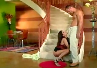 romantic lalin girl stairwell collision