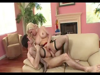 breasty blond d like to fuck creampie