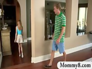 mother i stepmom catches nubiles fucking on her