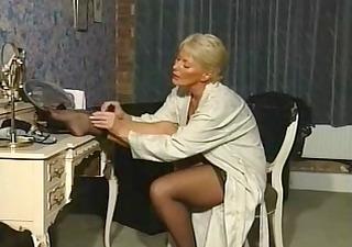 aged boudoir pamper