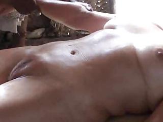 mature massage on ideal camel toe snatch -
