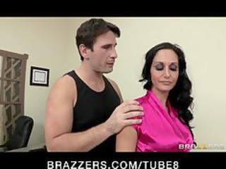 hawt lustful executive ava addams massaged and