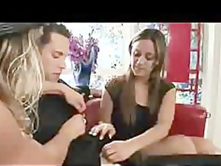 mamma makes daughter feel better with penis