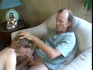 mature golden-haired receives anal