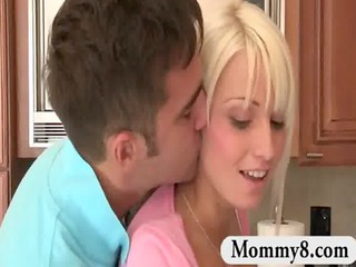 stepmom knows teen wishes to be dominated by