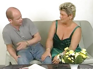 fat older housewife squirms