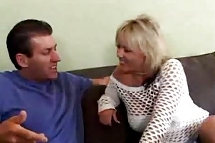hawt aged mamma gangbanged by her sons ally